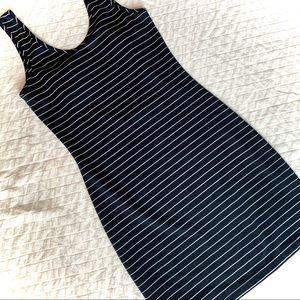 BY CORPUS Striped Mini Dress